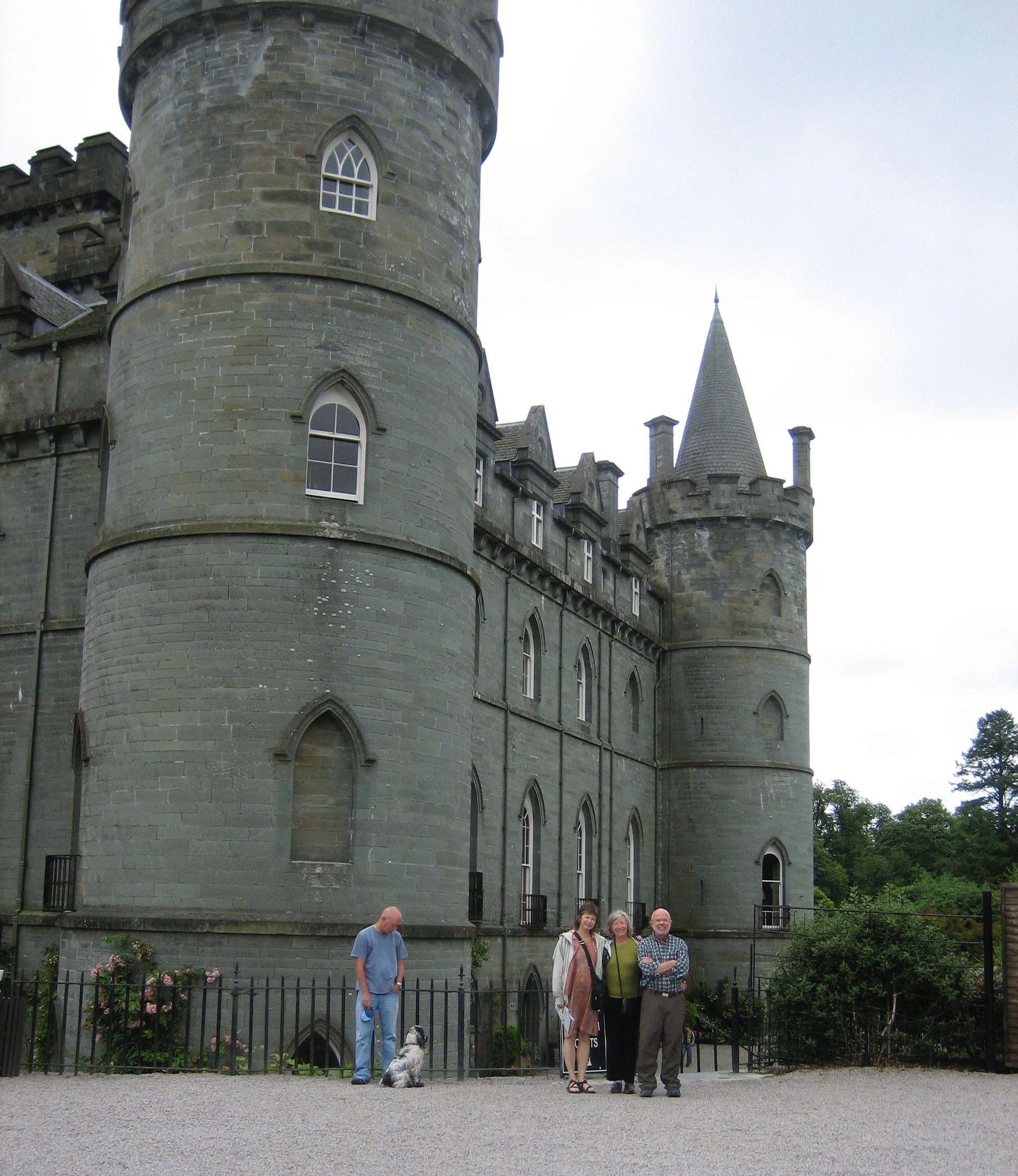 Castle Inverary, seat of Clan Campbell