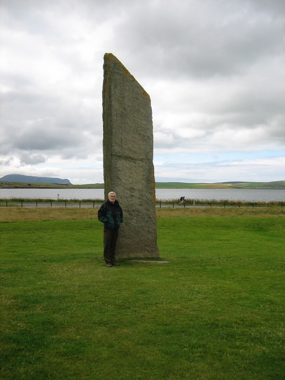 One of the remaining Standing Stones of Stenness