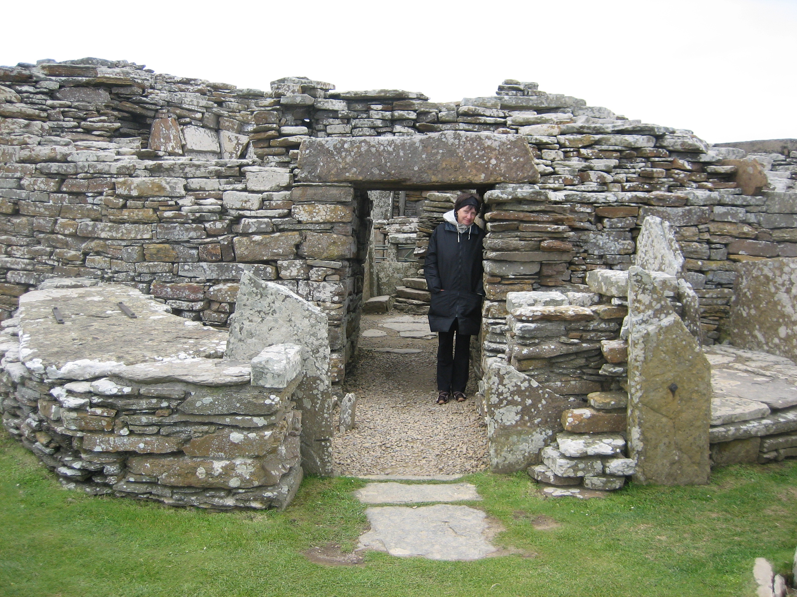 At the Broch of Guerness