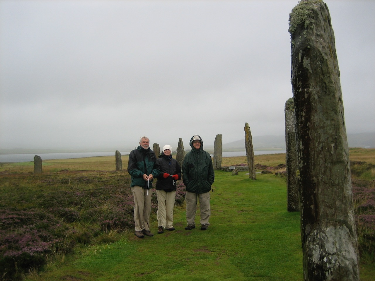 We're back at the Ring of Brognar, now with Ann and Dave, trying to dowse the circle