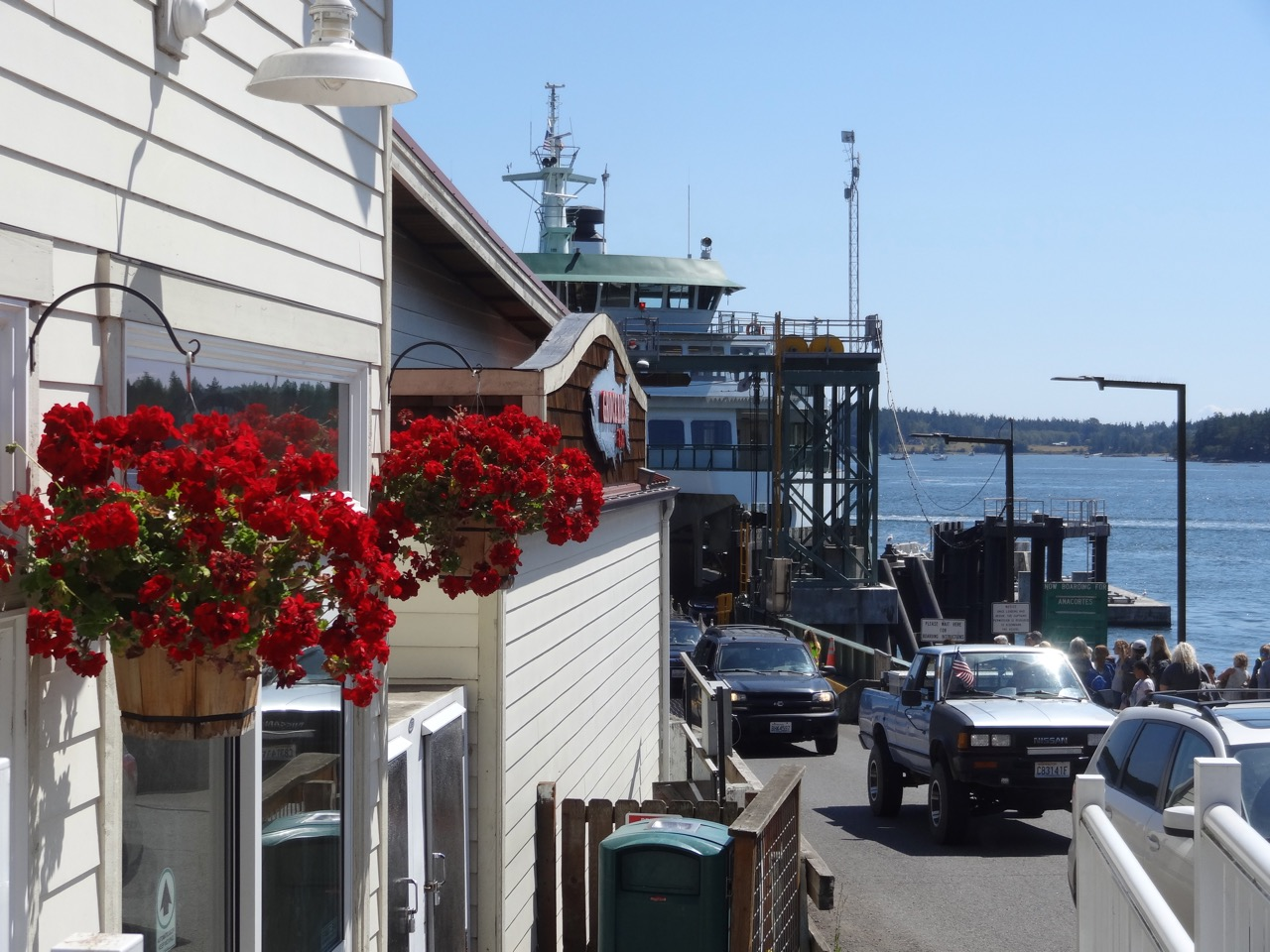 Orcas Village Store at the ferry landing