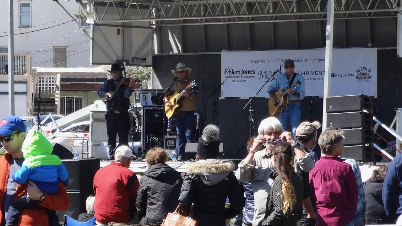Cowboy Brad and his band