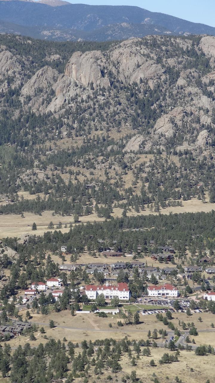 The Stanley Hotel below