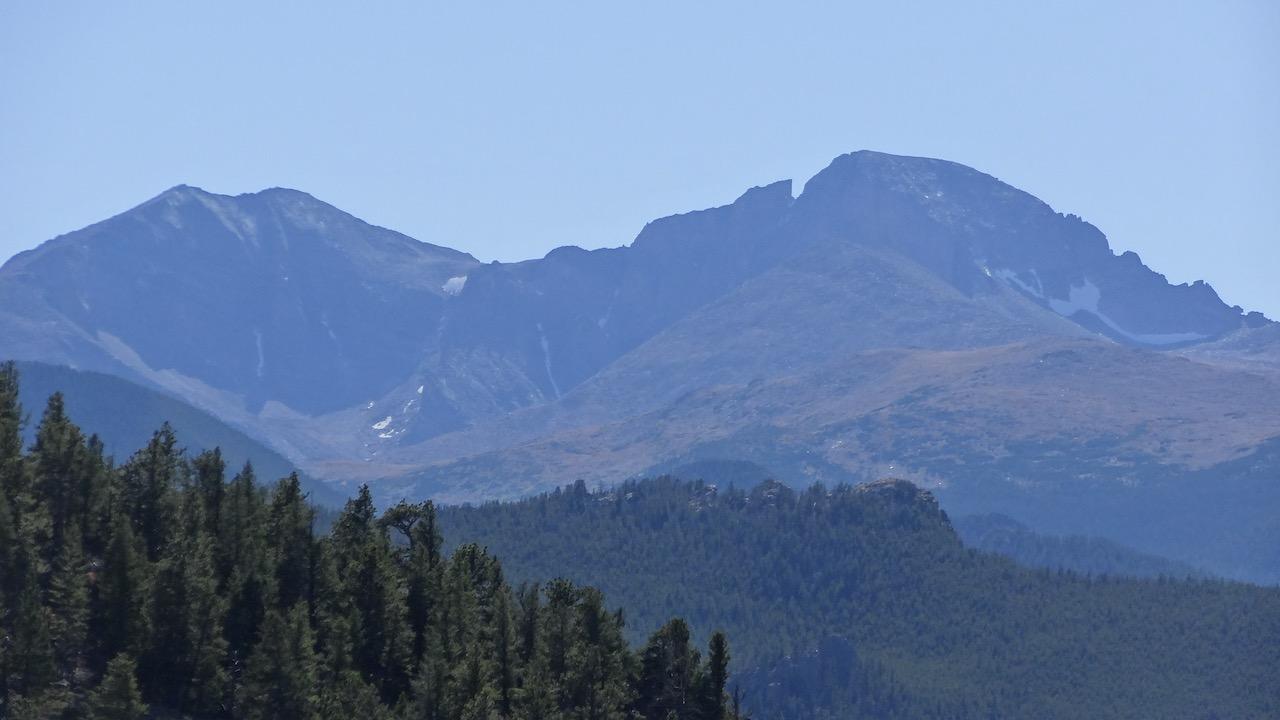Mt. Meeker and Longs Peak to the southwest