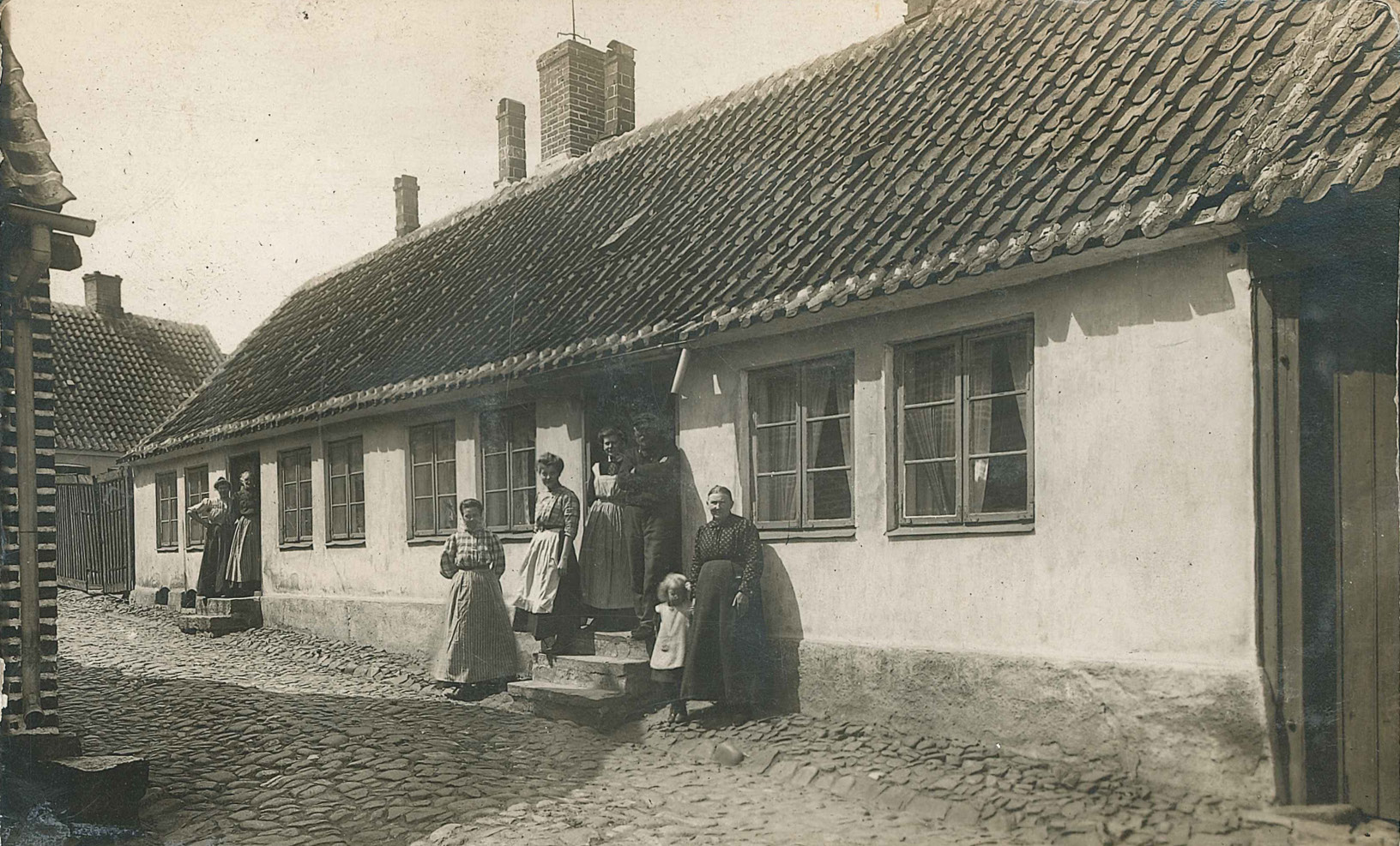 Capt Johan Nilsson's house in Simrishman's near the docks