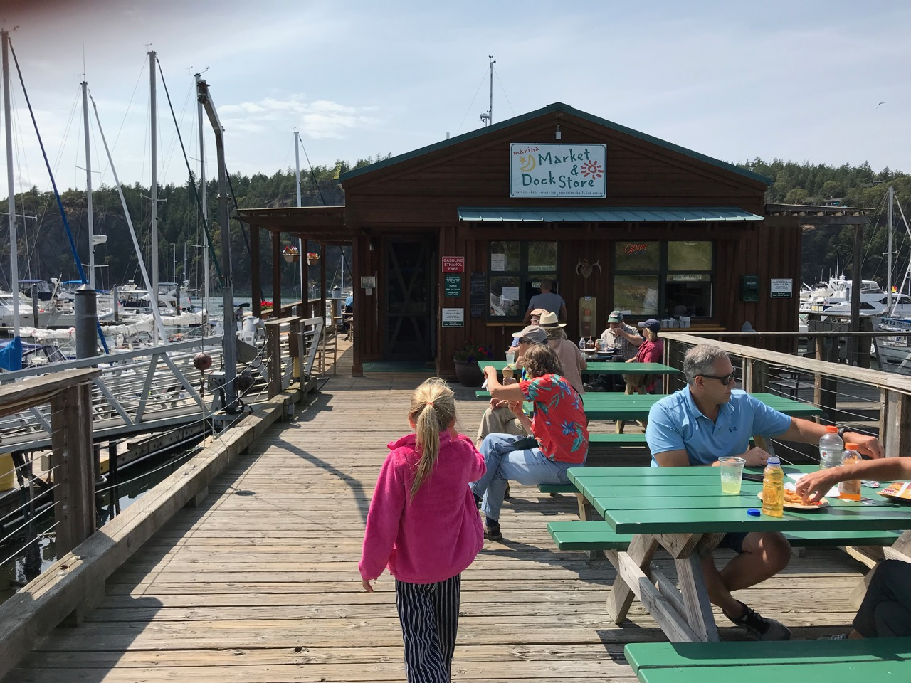 Deer Harbor Marina store